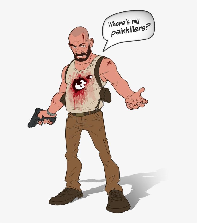Max Payne - Max Payne 3 Drawing, transparent png #754727