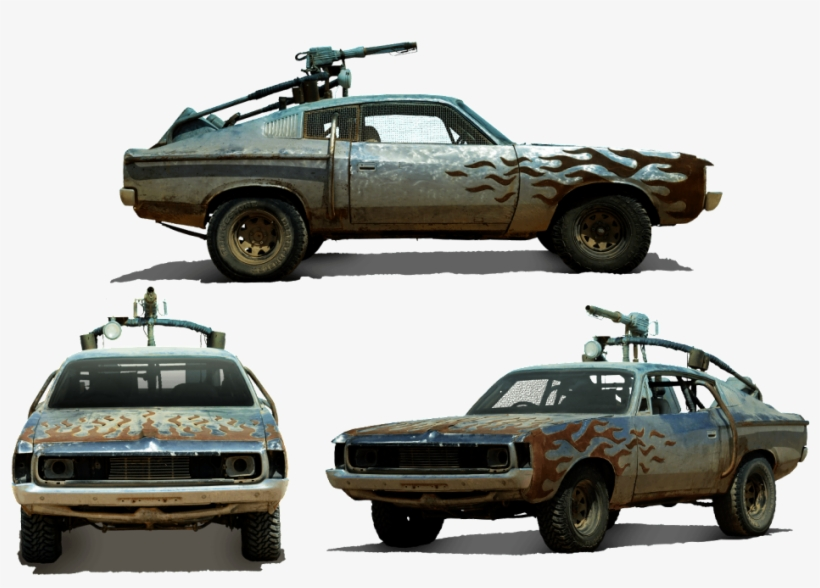 Mad Max Fury Road Vehicles Download - Mad Max Fury Road Valiant Charger, transparent png #755779