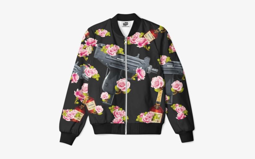 Floral Henny & Uzi Jacket - Cherry Blossom, transparent png #756675