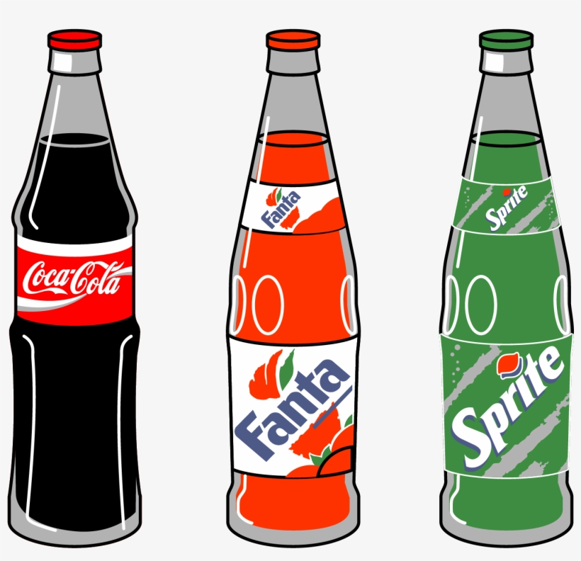 Fizzy Drinks Coca-cola Pepsi One - Clipart Cola - Free ...