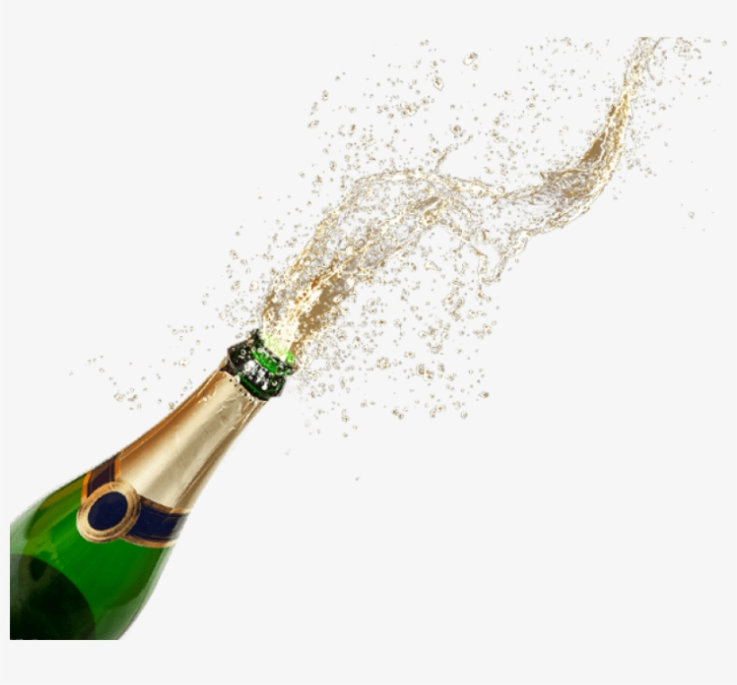 Анимационные картинки брызги шампанского