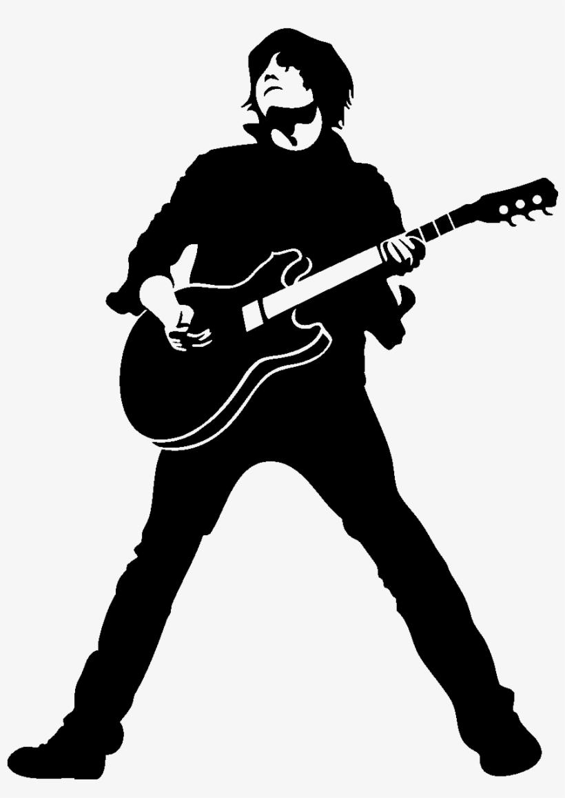 картинки гитарист рисунок покрытие этой бумаги