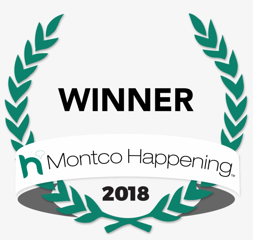 Montco Happening Hl Badge 2018 Winner - Montco Happening 2018 Winner Logo, transparent png #759225