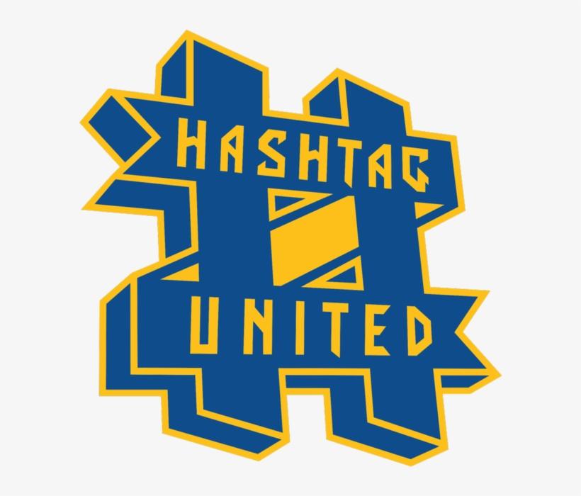 Hashtag United F - Hashtag United Logo, transparent png #759484