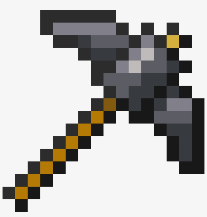 Smmp Pickaxe - Free Transparent PNG Download - PNGkey