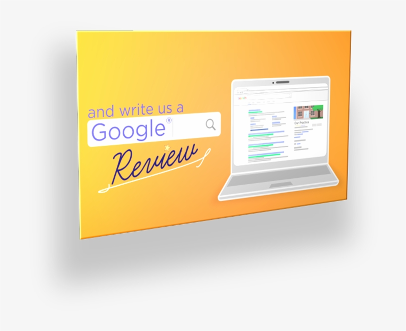 Then, Send Review Us On Google Home With Patients Along - Free
