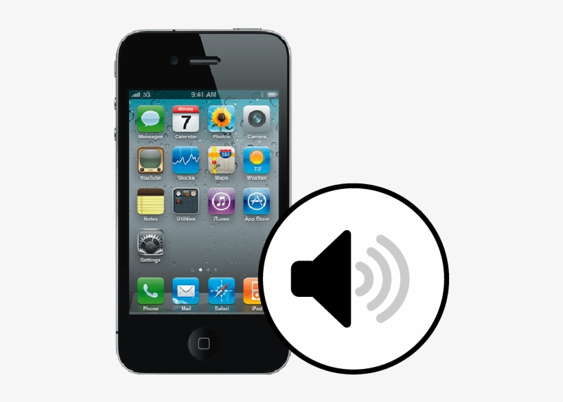 Iphone 4s Loudspeaker Repair - Iphone 4s 32gb Price In Bangladesh, transparent png #7591247