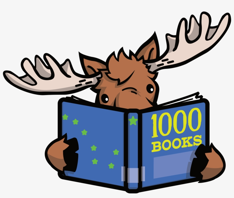Picture Black And White Stock Kids Reading Books Clipart - Deer Reading A Book, transparent png #7594203