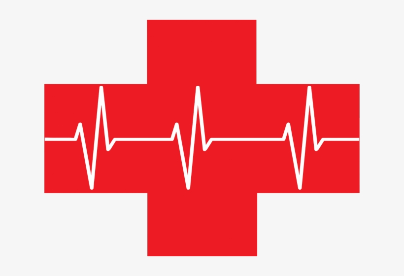Red Cross Mark Clipart Big - First Aid Kit Clipart Red, transparent png #760417
