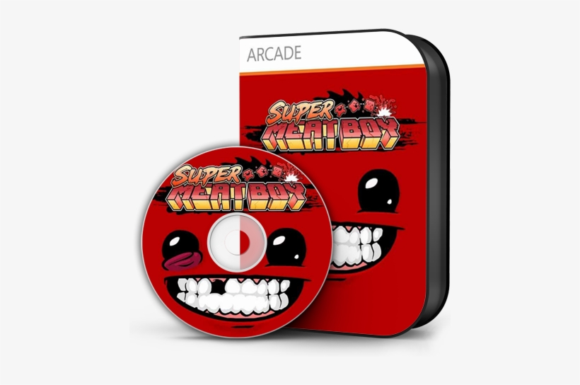 Super Meat Boy [theta] - Super Meat Boy Ultra Edition (pc Dvd-rom), transparent png #762900