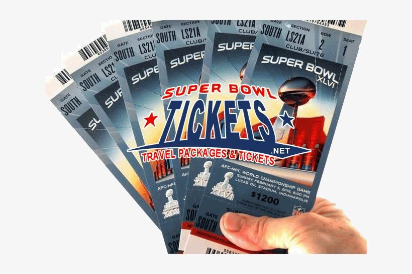 Fan Guaranteed Super Bowl Tickets - Super Bowl 2012 Tickets, transparent png #762944
