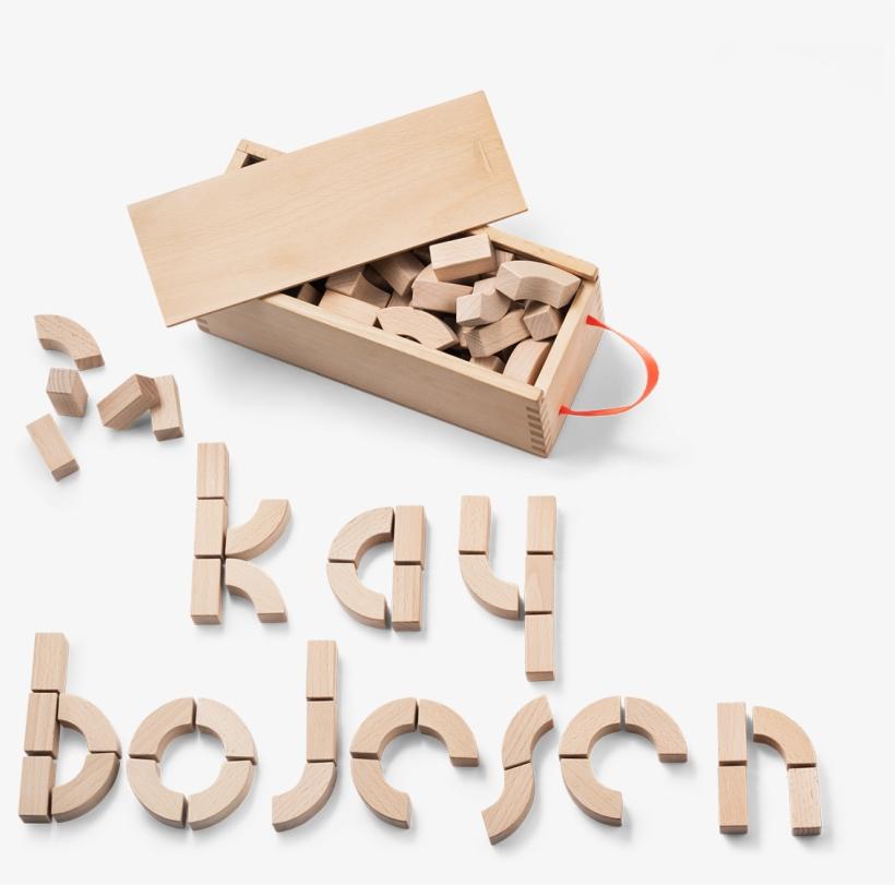 Alphabet Blocks Beech Kay Bojesen - Kay Bojesen Alphabet Block, transparent png #764248