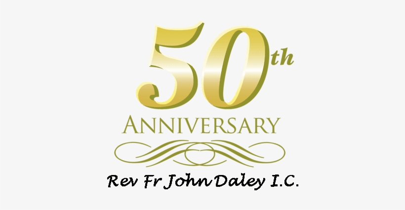 My 50th Ordination Anniversary - 50th Anniversary Note Cards (pk Of 10), transparent png #764738