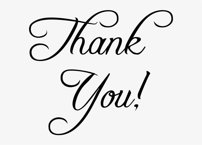 Thank You Script - Salon Thank You Post, transparent png #764765