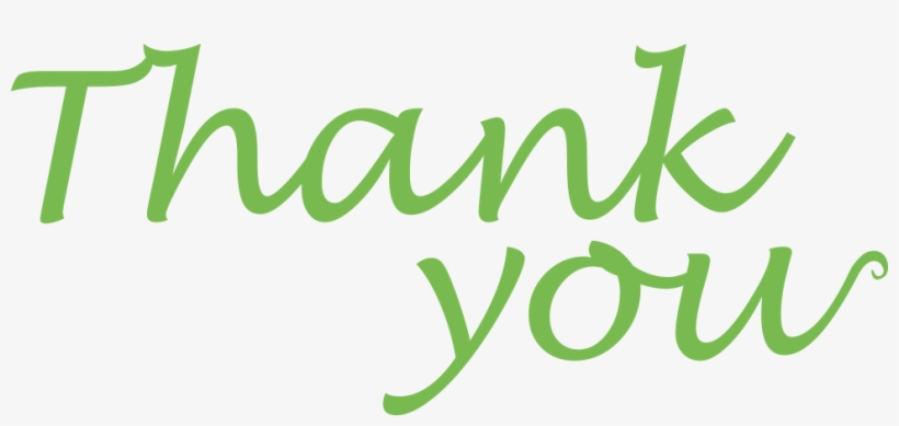 Thank You Clipart - Big Thank You For Your Support, transparent png #764873