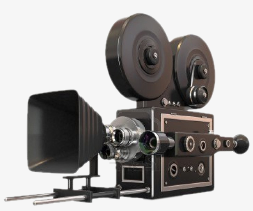 Vintage Camera Png For Kids - Video Camera Movie, transparent png #765317