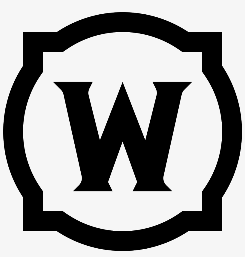 World Of Warcraft Icon Png - Emblem, transparent png #767521