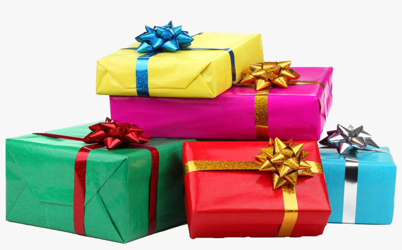 Birthday Presents Png - Birthday Gift Hd Png, transparent png #767806