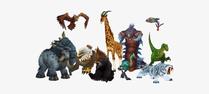 Characteristics In World Of Warcraft - World Of Warcraft Creatures, transparent png #767901