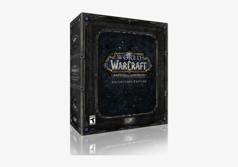 World Of Warcraft - Wow Battle For Azeroth Collector's Edition, transparent png #768267