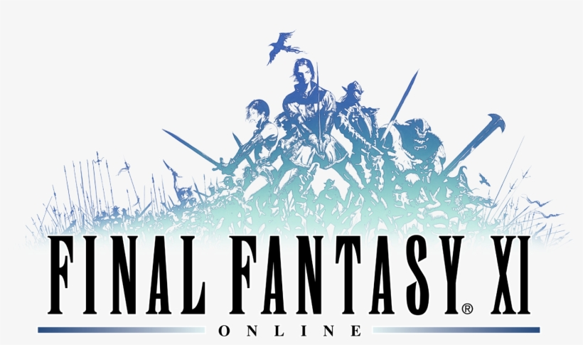 Final Fantasy Xiv Logo Png - Final Fantasy Xi, transparent png #768328