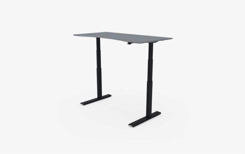 Updesk Pro Commercial-grade Electric Adjustable Standing - Desk, transparent png #768369