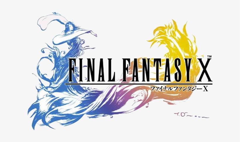 Final Fantasy X Logo - Final Fantasy X Japanese Cover, transparent png #768448