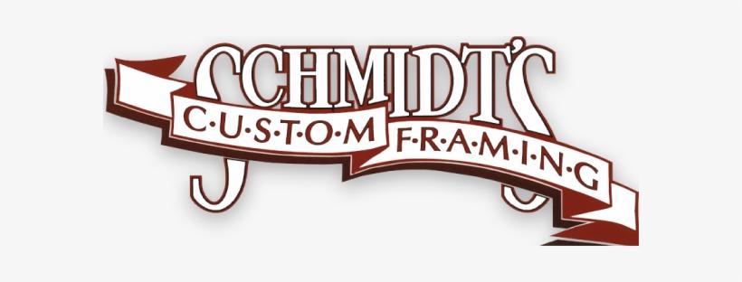 Schdmits Custom Framing Logo - Schmidt's Custom Framing, transparent png #768537
