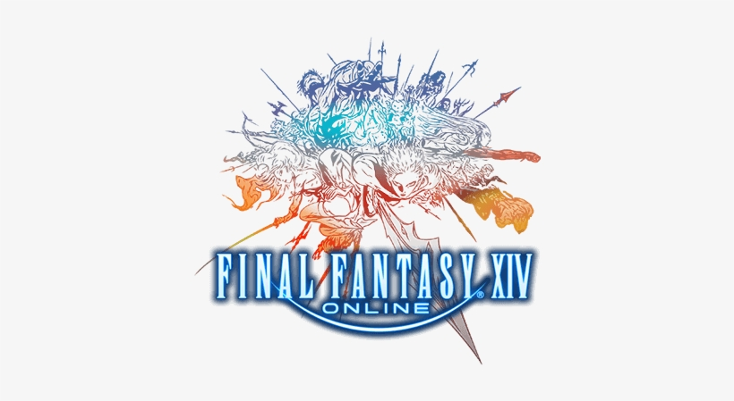 Play Ff Xiv - Final Fantasy Xiv Logo, transparent png #768962