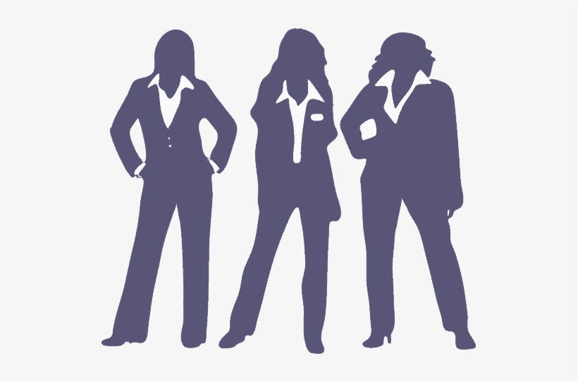 Three Ladies Standing Together - Women Reentry Program, transparent png #769246