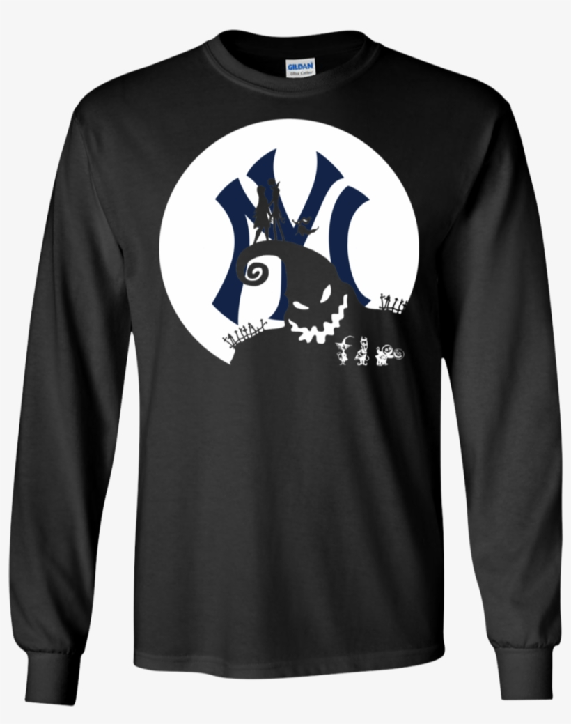 Jack Skellington And Sally New York Yankees Halloween - New York Yankees, transparent png #7612264