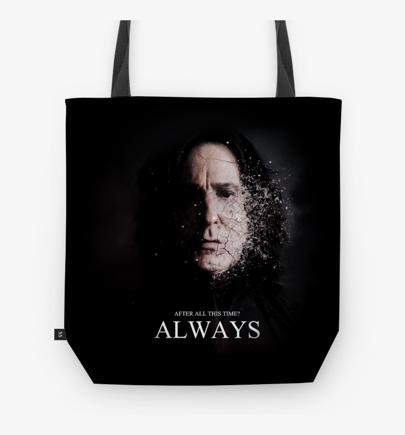 Bolsa Always De Gui Rodriguesna - Severus Snape After All This Time Always, transparent png #7612837