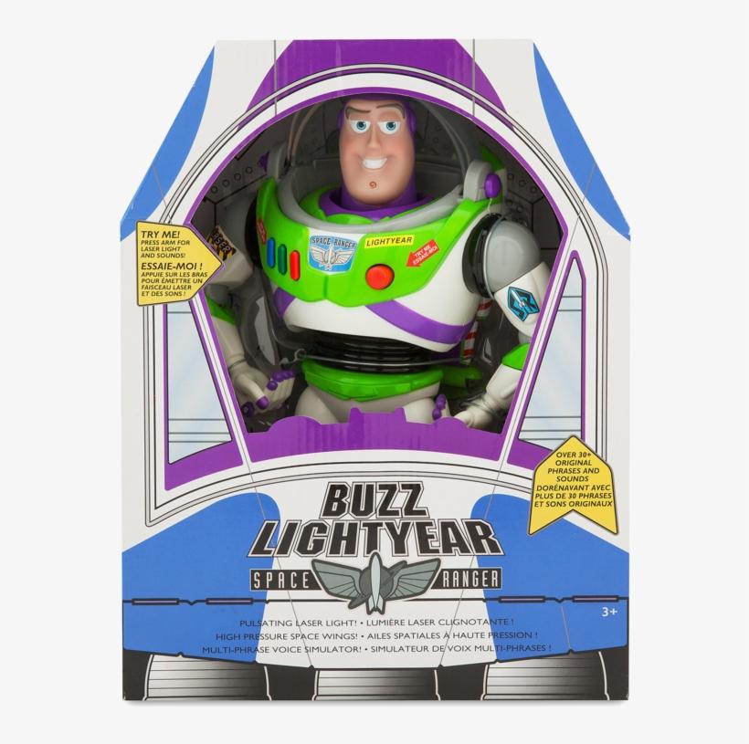 Toy Story Buzz Lightyear Original Talking Doll Buzz - Toy Story Buzz Lightyear Disney Store, transparent png #7614350