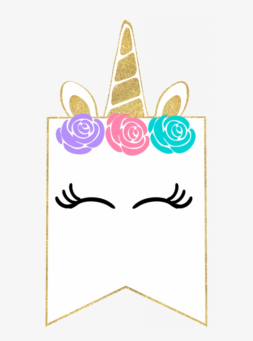 Free Printable Unicorn Decorations Party Banner - Free Printable