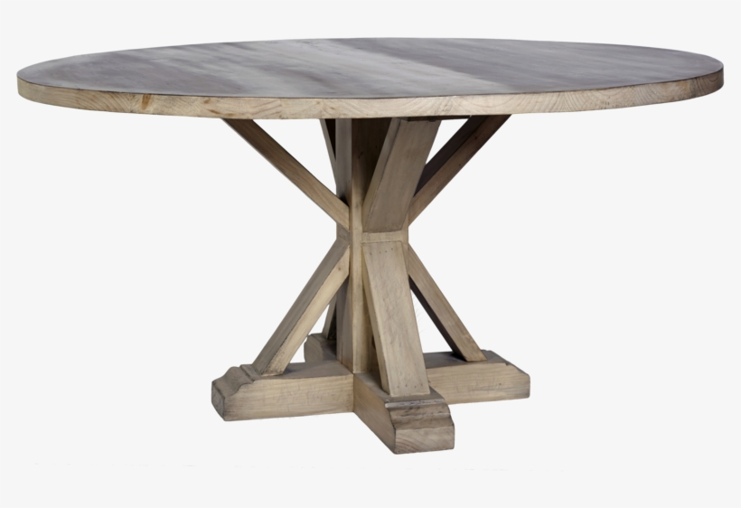 Maine Pedestal Dining Table - Outdoor Table, transparent png #7617849