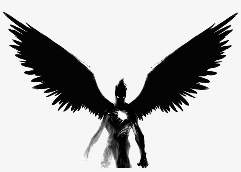 Angel Black And White Clip Art Devil Bez Serdca I Dushi Free Transparent Png Download Pngkey