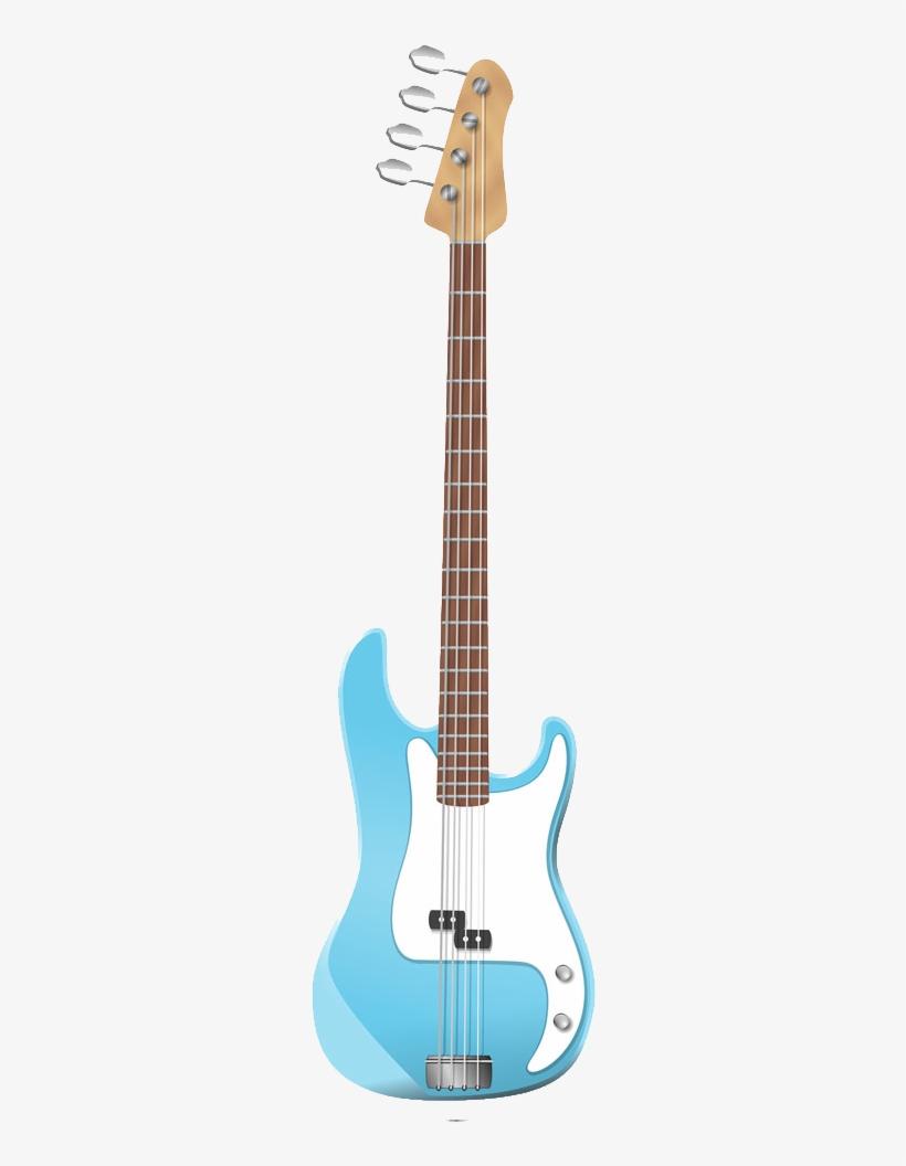 Clipart Bass Guitar Cartoon