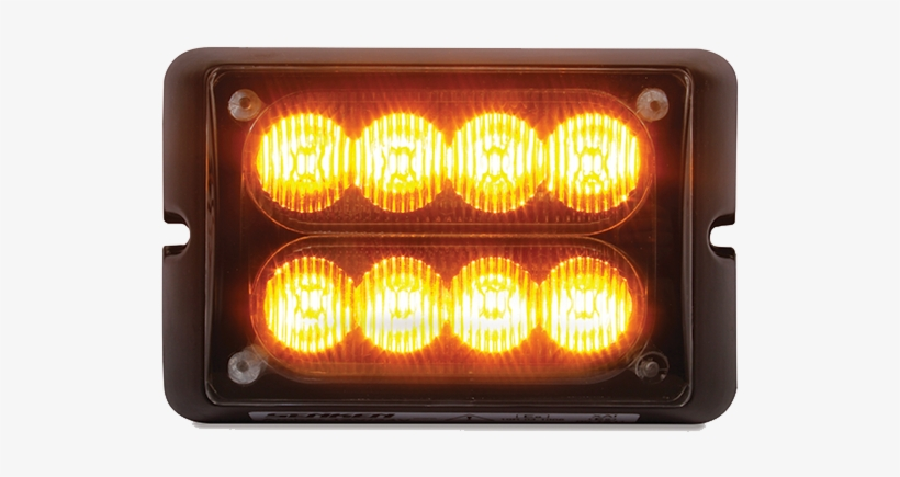 8 Led Warning Flasher With 8 Flash Patterns - Light, transparent png #7640045