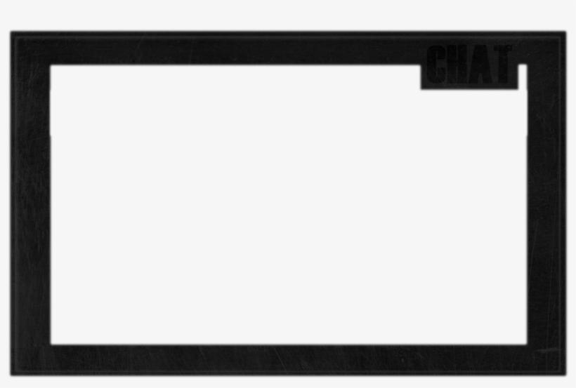 No Webcam Overlay Twitch Stream 171071 Png - Black Frame, transparent png #7642456