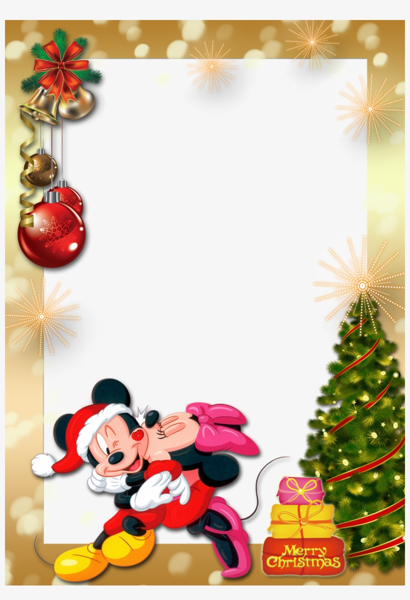 Frames De Natal Com Personagens Infantil Molduras De Natal