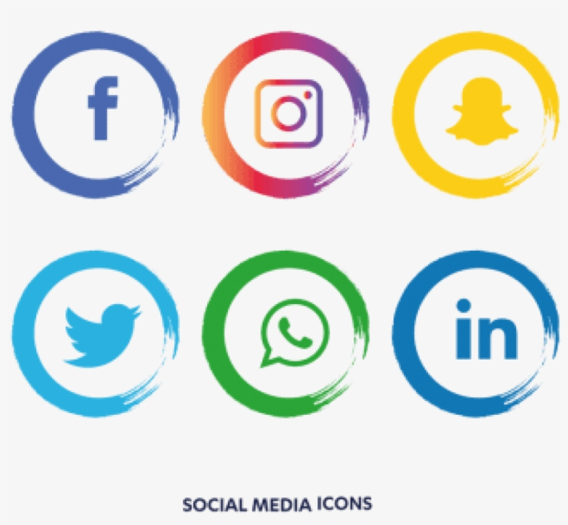 Free Png Download Facebook Instagram Whatsapp Png Images - Facebook Instagram Icon Png, transparent png #7651544
