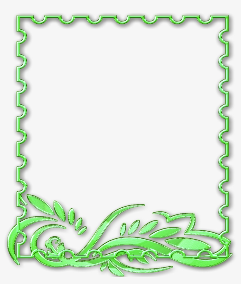 picture regarding Free Printable Picture Frames and Borders identified as Mq Eco-friendly Frames Border Borders Border Body - Absolutely free Printable