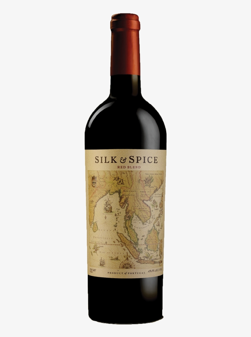 Silk & Spice Red Blend - Silk And Spice Red Wine, transparent png #7658358