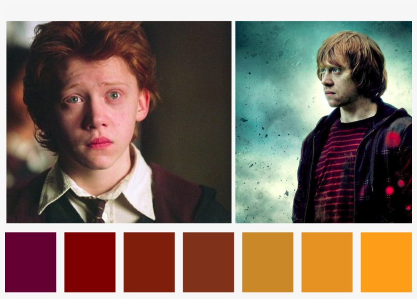 """Option = """"ronweasley"""" - Harry Potter And The Deathly Hallows: Part Ii (2011), transparent png #7661048"""
