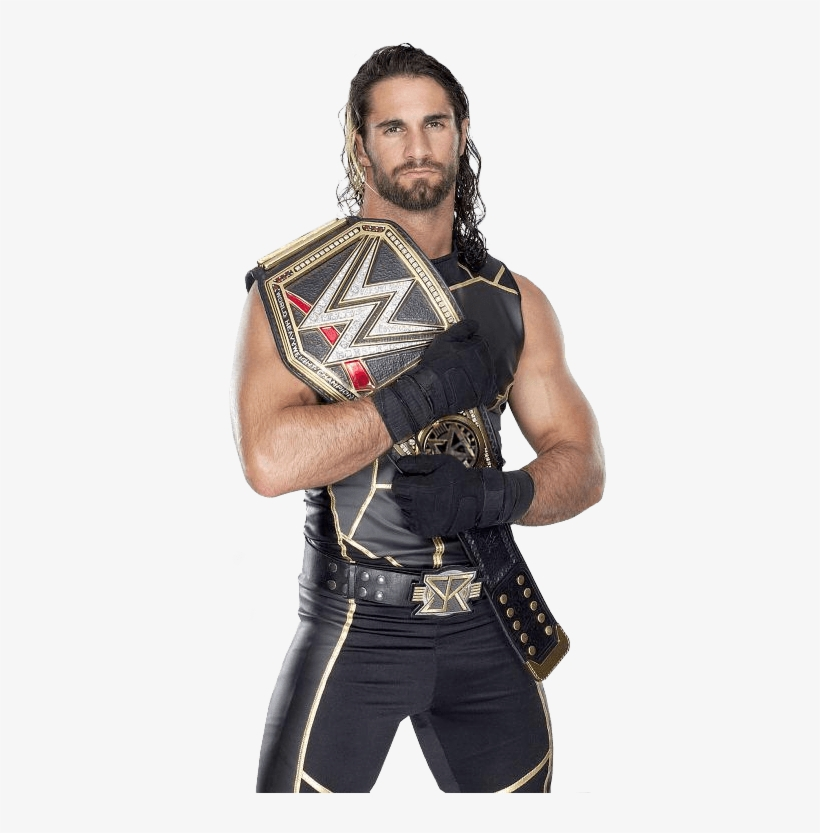 Seth Rollins Images Seth Rollins And The World Heavyweight - Wwe Seth Rollins And Sasha Banks, transparent png #7664265