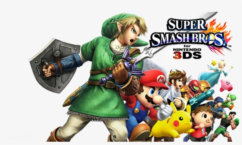 Super Smash Bros - Super Smash Bros 3ds Png, transparent png #7667113