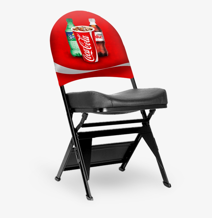 Chair Wear Signage Bags - Branded Folding Chair, transparent png #7668789