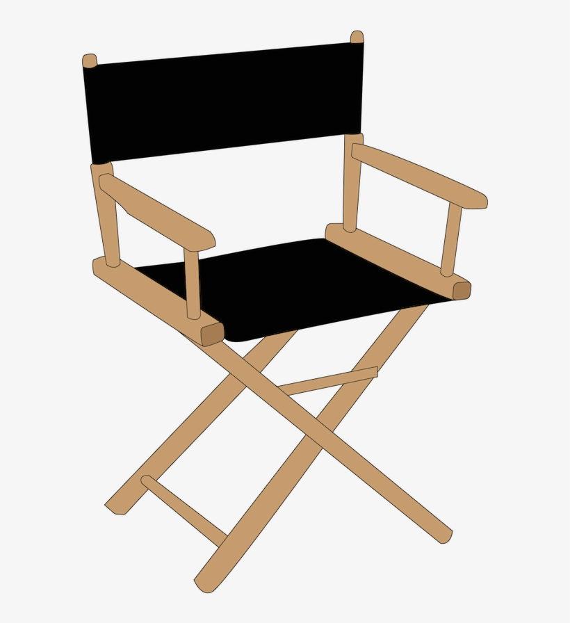 Question - Folding Director Chair, transparent png #7673615