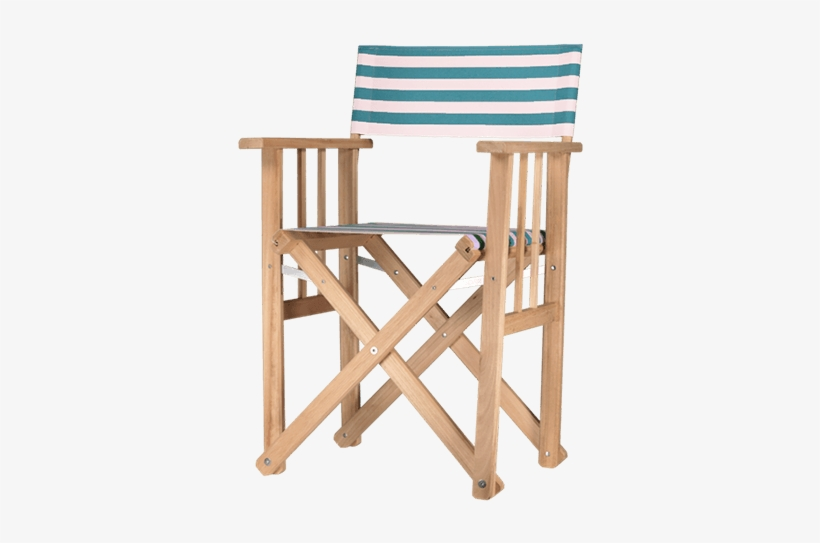 Green Director Chair Lido - Folding Chair, transparent png #7673878
