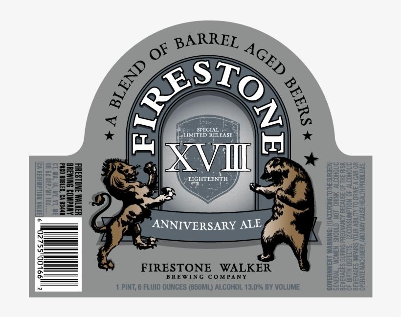 Firestone Walker Xviii - Firestone Walker 22nd Anniversary, transparent png #7675954